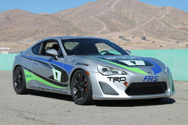 Scion FR-S - Rear Wheel Drive