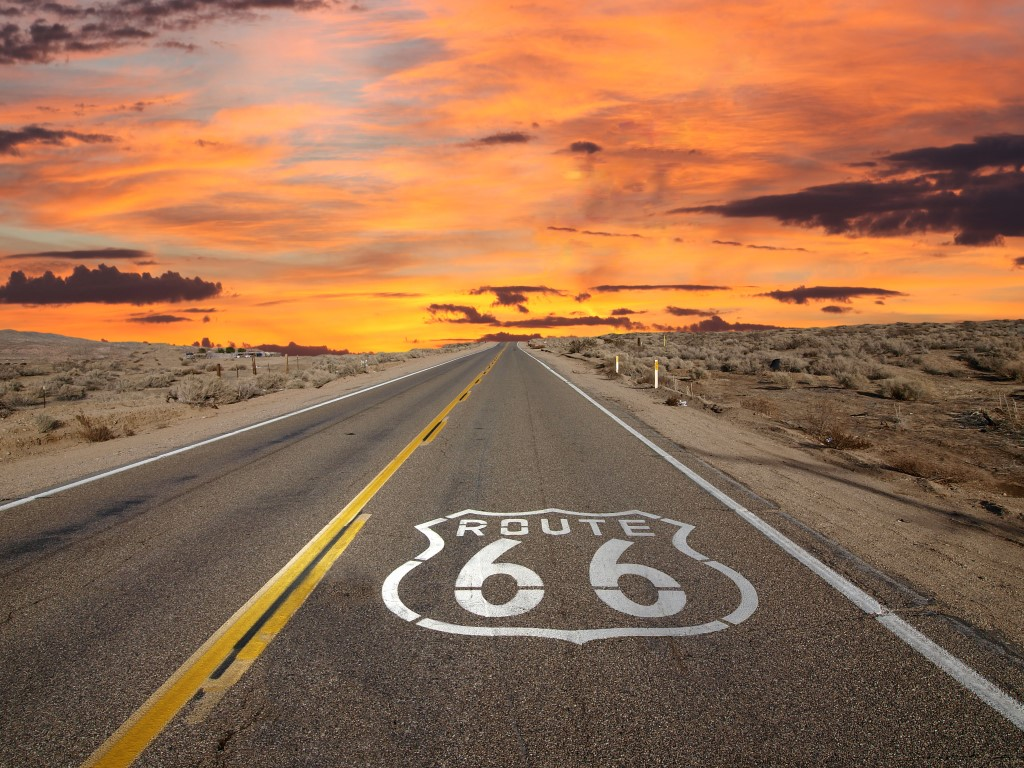 Route 66 SunsetJoeography Custom