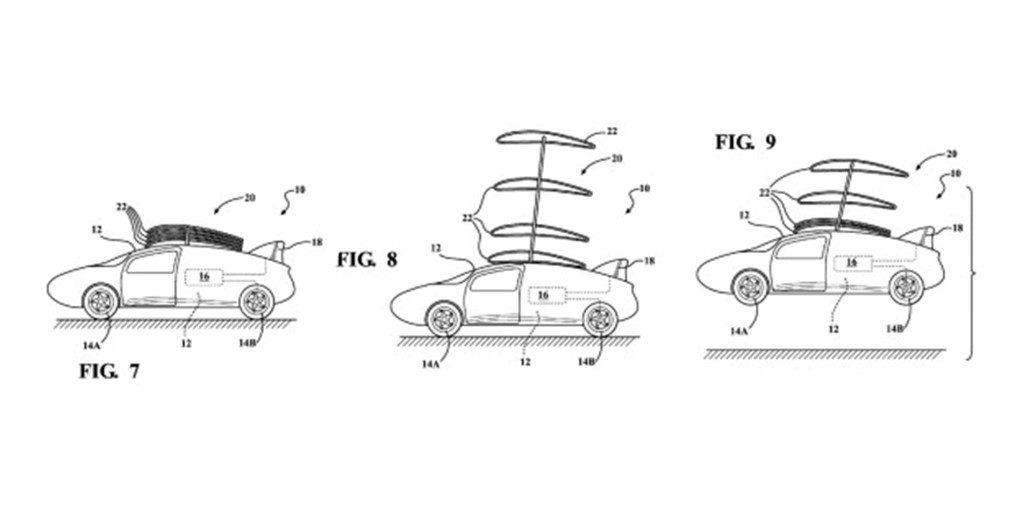 toyota stackable wing patent 3 figures Custom