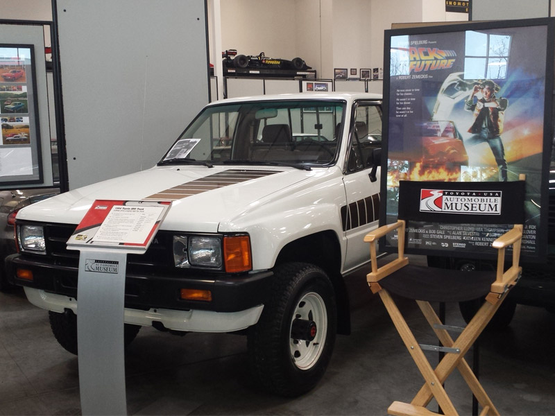 Toyota Tacoma Back to the Future Toyota Museum Torrance