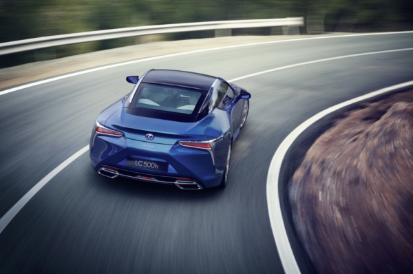 Lexus LC 500h: The Hybrid We All Want To Drive