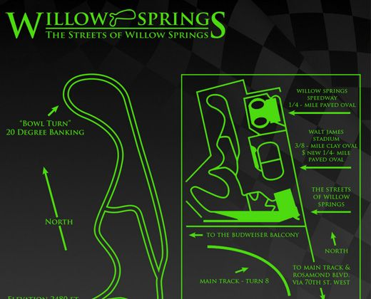 Streets of Willow Springs